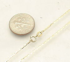 """10"""" Mariner Gucci Link Chain Ankle Bracelet Anklet Real Solid 10K Yellow Gold"""