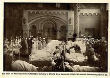 Der deutsche Kaiser im holländischen Lazarett in Gleiwitz * Bilddokument 1917