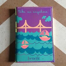Benefit 2016 Golden Gate Passport Cover BN UK STOCK LIMITED EDITION