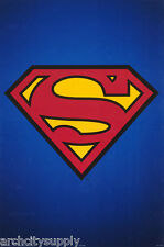 POSTER : TV/COMICS/MOVIE: SUPERMAN LOGO - FREE SHIPPING #2823   RAP103 B