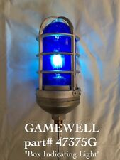 GAMEWELL * GENUINE *  BLUE POLICE ALARM BOX LIGHT #47375G  .....also for fire