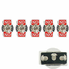 5 X SPDT 3 Pin Heavy Duty 20A 125V (ON)-OFF-(ON) Momentary Rocker Toggle Switch