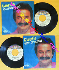 LP 45 7'' GIORGIO MORODER Hollywood dreams Valley of the dolls 1980 no cd mc dvd