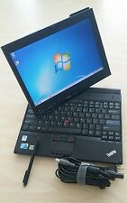 Lenovo Thinkpad X201 Tablet Core i7 250GB 4GB Multi-Touchscreen WEBCAM WIN 7 Pro