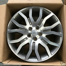 "GENUINE RANGE ROVER L322 VOGUE SUPERCHARGED 20""INCH POLISHED SINGLE ALLOY WHEEL"
