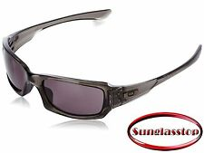 New Oakley Sunglasses Fives Squared Gray Smoke / Warm Grey Lenses OO9238-05
