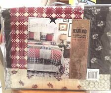 "LADY ANTEBELLUM HEARTLAND ""AMERICAN PATCHWORK""  KING QUILT SET A Patchwork King"