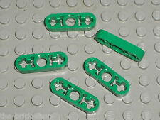 5 x LEGO TECHNIC white Beam 3 x 0.5 Liftarm ref 6632 / Set 42008 8000 8208 21127