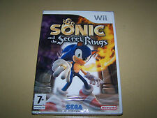 Sonic And The Secret Rings Wii **New & Sealed**