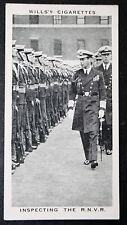 Royal Naval Volunteer Reserve   Horse Guards Parade    Vintage Photo Card