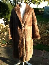 Beautiful vintage real fur coat, approx size 16, excellent condition