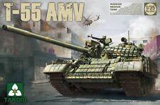 Takom 1/35 Scale Russian T-55AMV Medium tank Plastic Model Kit 2042