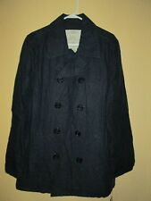 Ralph Lauren Polo Nautical French Navy Linen Coat NEW NWT Size M