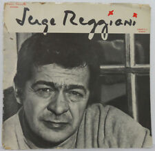 Serge Reggiani ?- Album No. 2 - Bobino LP French Chanson 1967 Gatefold Original