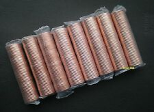8 rolls of Canadian pennies MINT SEALED 2001, 2010, 2011, 2012
