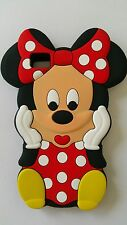 Funda para móvil S MINNIE RED SILICONA para BQ AQUARIUS M5