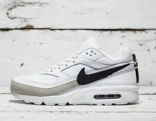 Nike Air Max Classics BW Premium White Trainers - Size 10 - HARD TO FIND