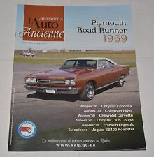 LE MAGAZINE DE L'AUTO ANCIENNE FRENCH JANVIER 2010 PLYMOUTH ROAD RUNNER 1969
