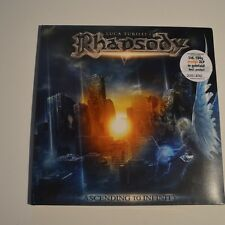 LUCA TURILLI'S RHAPSODY -ASCENDING TO INFINITY- 2012 2LP 250 COPIES COLOR VINYL