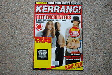 KERRANG MAGAZINE # 569 1995 REEF APES PIGS & SPACEMEN SKID ROW THERAPY?