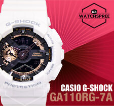 Casio G-Shock Rose Gold Color Accented Model-GA-110RG Series Watch GA110RG-7A