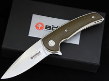 Boker Knives Les Voorhies Model 13 EDC Knife Flipper Folder Titanium Micarta New