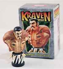 KRAVEN THE HUNTER MINI-BUST BY BOWEN DESIGNS - FACTORY SEALED, NIB / MIB