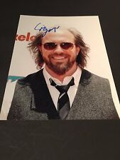 ERIC LANGE In-Person (Erwin Sikowitz in Victorious) signed Foto 20x27 Autogramm