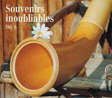 CD ALBUM SOUVENIRS INOUBLIABLES VOL. 6 / ARTISTES SUISSES / LYS ASSIA ETC