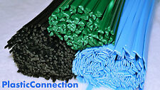 ABS Plastic welding rods 4mm,3mm green blue,mix pack of 45 pcs