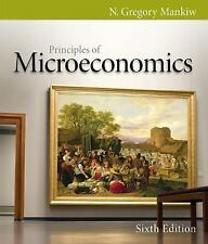 Principles of Microeconomics 6E by N. Gregory Mankiw - Same Day Shipping