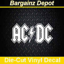 Vinyl Decal ... AC/DC ... Car Laptop Sticker Vinyl Decal