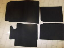 Mini Cooper Countryman Black Carpet Floor Mat Set 4 OEM
