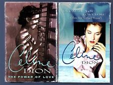 Celine Dion 2- Cassette SINGLES LIMITED EDITION 1991-96 FREE SHIPPING IN USA