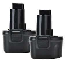 2x 3.0AH 7.2V DW9057 DE9057 DE9085 Battery for DEWALT Cordless Power Tool