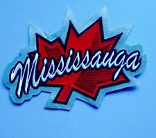 Mississauga Ice Dogs OHL CHL Hockey CCM  Maska Iron On Jersey Shoulder Patch B