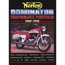 Norton Dominator Performance Portfolio 1949-1970 book paper