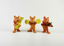 Haribo === 3 x Werbefiguren Goldbären Musiker Schleich
