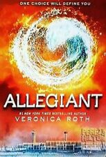 SIGNED by Veronica Roth Allegiant (Divergent Series #3) (Signed Edition) 1st/1st