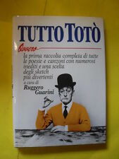 GUARINI - TUTTO TOTO' - ED.GREMESE - 1992