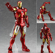 MAX Factory Figma 217 Marvel Avengers: Iron Man MK Mark 7 VII Figure Genuine