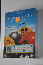COFFRET 4 DVD ANIMATION ...MINUSCULE LA VIE PRIVE DES INSECTES SAISON 1...NEUF