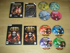 Star Wars-Knights of the Old Republic 1 & 2 PC CD ROM Fallout 1 & 2-Rápido Post
