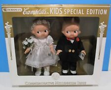 Campbell Soup Kids, dolls 12 in~Special Edition, Bride & Groom, W Original Box!