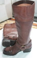 Lucky Brand Harness Boot Women US 6 Brown EU 36 Pre Owned ABENI