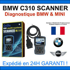 BMW C310 SCANNER - Valise Diagnostique BMW & MINI - INPA K+DCAN SSS / DIS NCS