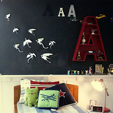 7Pcs DIY 3D Dino Wall Stickers Art Design Decals Room Home Decor White Dragons