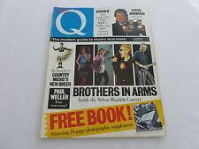Q Magazine 22 [July 88] Michael Winner,Mandela Concert,Steve Winwood,Paul Weller