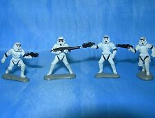 STAR WARS Micro Machines IMPERIAL STORMTROOPERS LOT of 4 Troopers Figures Galoob