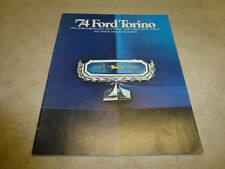 1974 FORD TORINO DEALER ISSUED SALES BROCHURE